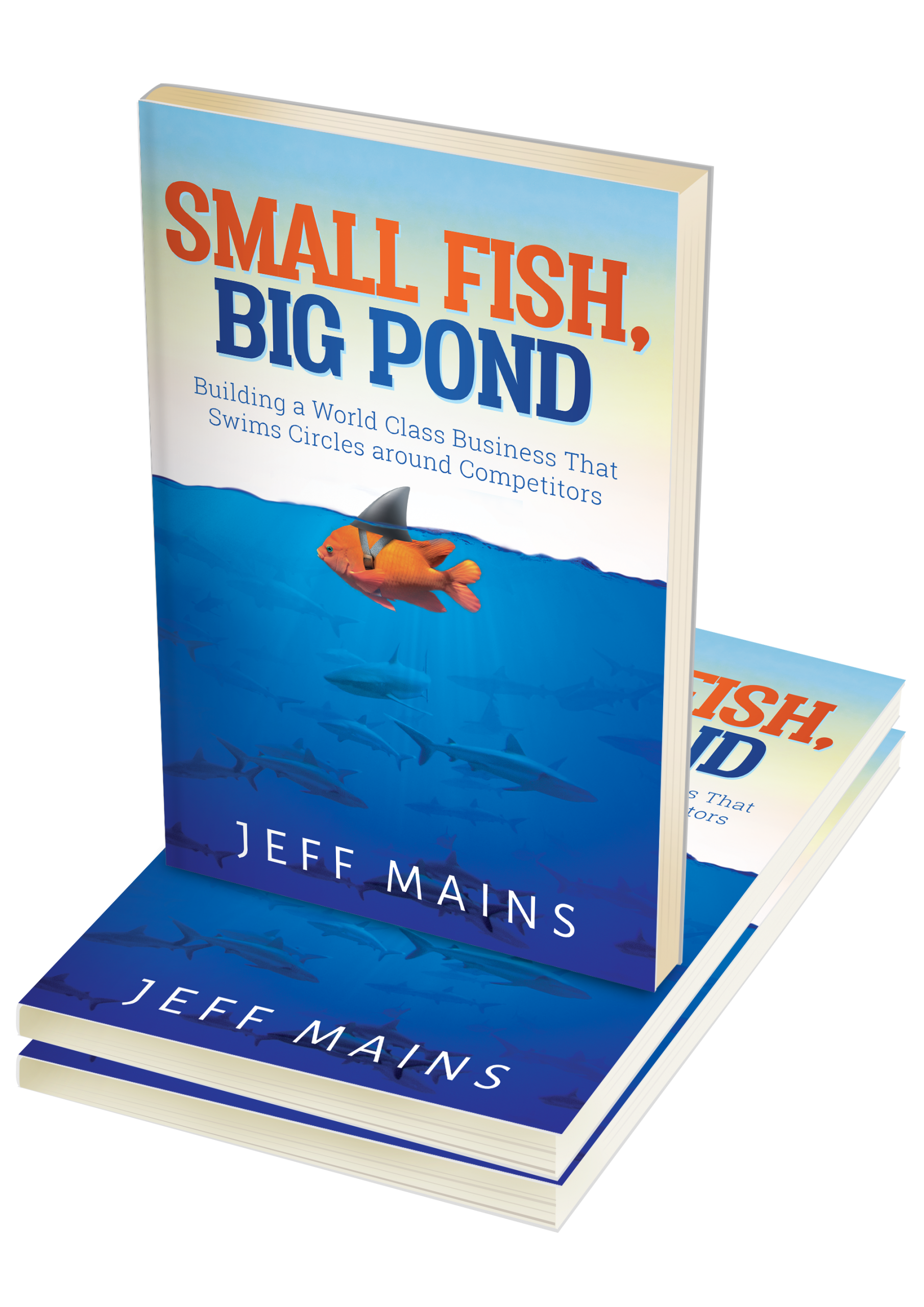 Small Fish Big Pond Book Cover